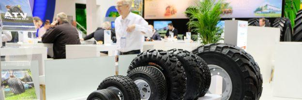 Auf der Agritechnica betreute Contentakel den Reifengroßhändler Bohnenkamp mit Inhalten